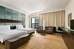 Traders Club Deluxe Twin Room