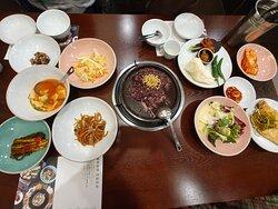 Han-jeongsik(Korean Table d'hote)