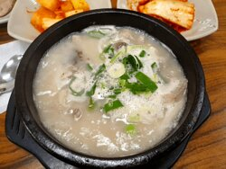 Soondaeguk(korean style sausage soup)