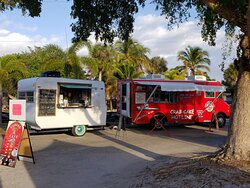 Today! Wednesdays and Fridays 8am-1pm  130 Connecticut St Fort Myers Beach  Arts, crafts, Cuban sandwiches,  crabcake food truck, smoothies.