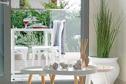 Premium apartment - living room - coffee table