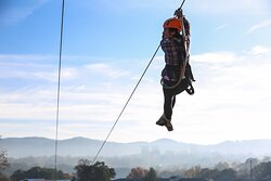 Asheville Zipline Canopy Adventures is a great adventure all year long!