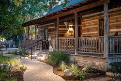 The Red River North & South cabins share a porch. Perfect if traveling with another couple!