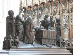 Leuven, Sint-Geertruikerk, choir stalls