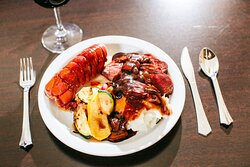 Steak and Lobster, Side of Mashed Potatos