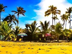 Vista desde la playa.