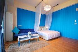 藍色精緻雙人房