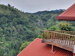 Mini rawana waterfall from Ella mount view guest inn