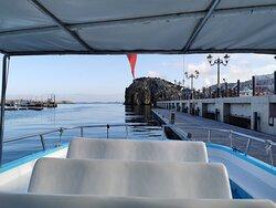 L'Azur à quai, Port de plaisance d'Al Hoceima