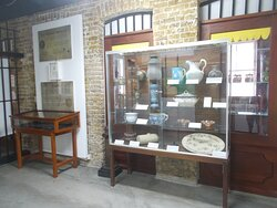 Some dining wares & such likely from the colonial time (on the 1st level)