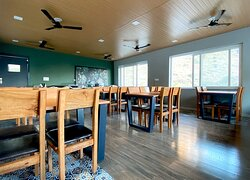 Wild Leaf Restaurant in Mussoorie at SL Manor.