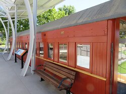 Cafe train carriage