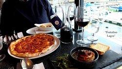 Vorspeisen und Vorspeisen-Pizza