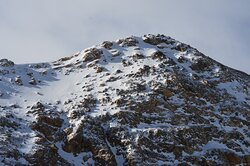 Mountains surrounding Loveland Pass