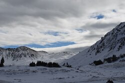 by the Loveland Pass Road