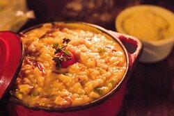 Especial da Casa - Risoto Garimpeiro - carne seca, abóbora e ingredientes secretos!