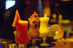 Variedade em drinks