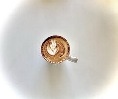 lighten up your day with a spiaggia latte