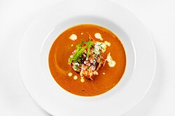 Lobster Bisque at The Mill