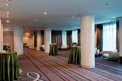 The Arbutus Ballroom Foyer - Reception Setup