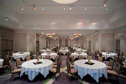 Arbutus Ballroom - Rounds Setup