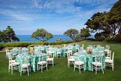 North Point Lawn - Banquet Setup