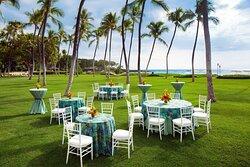 North Pointe Lawn - Wedding Reception Setup