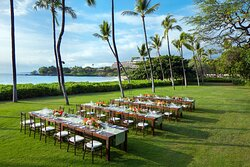 South Point Lawn - Wedding Dinner