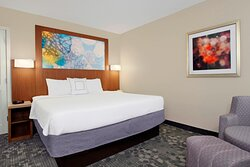 King Suite Sleeping Area