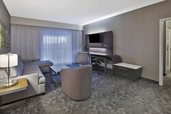 One-Bedroom Executive Suite - Living Room