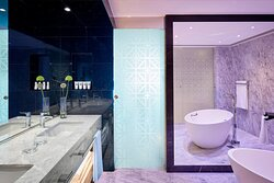 Lifestyle Suite Sea View - Bathroom - Adults Only