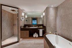 Ocean Suite Bathroom With Bathtub