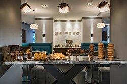 Fifteen Squares Restaurant - Morning Pastry Table