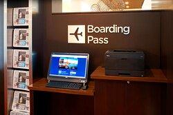Boarding Pass Station