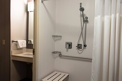 Accessible Bathroom - Roll-in showers