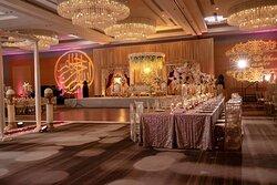 Atrium Ballroom - Wedding Reception Setup