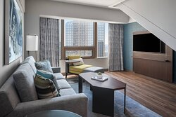 Bi-Level Suite - Living Area