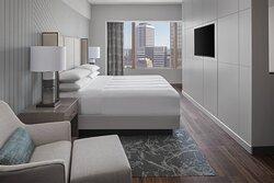 Bi-Level Suite - King Bedroom