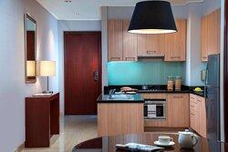 One-Bedroom Apartment - Kitchen