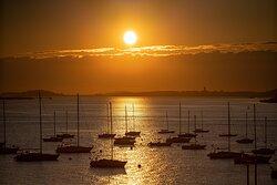 Suite - Boston Harbor Sunrise View