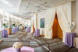 San Jose Ballroom Foyer – Wedding Setup