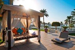 Doha Marriott Cabanas
