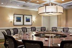 Executive Boardroom - Round Table Setup