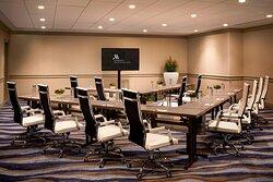 Palisades Conference Room - V Clasroom Setup