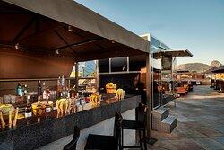 Moonlounge Roftop Bar - Bar Area