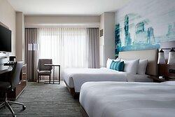 High Floor Queen/Queen Guest Room