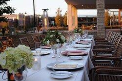 Social Terrace - Wedding Reception
