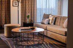 Concierge Lounge - Sitting Area