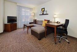 One Bedroom Suite – Living Room