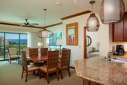 Ocean View Villa - Dining Area